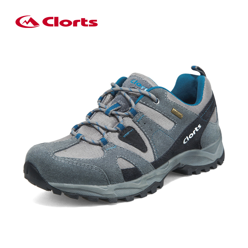 Low Cut Men Hiking Boots Clorts Nubuck Breathable Outdoor Hiking Shoes Suede Rubber Waterproof Athletic Sneakers HKL-828A/B/C 2017 clorts new upstream shoes for men breathable fast drying wading sneakers outdoor shoes 3h023c