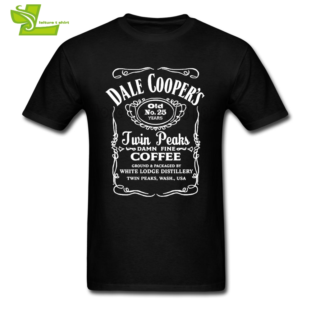 Twin Peaks T Shirt Mens Short Sleeve Round Neck Tee Adult New Coming Plus Size Tshirts Fashion Normal Loose Guys Tee Shirt