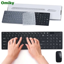 High Standard 2.4G Multimedia Wireless Mouse and Keyboard Set for Desktop Laptop PC U0228