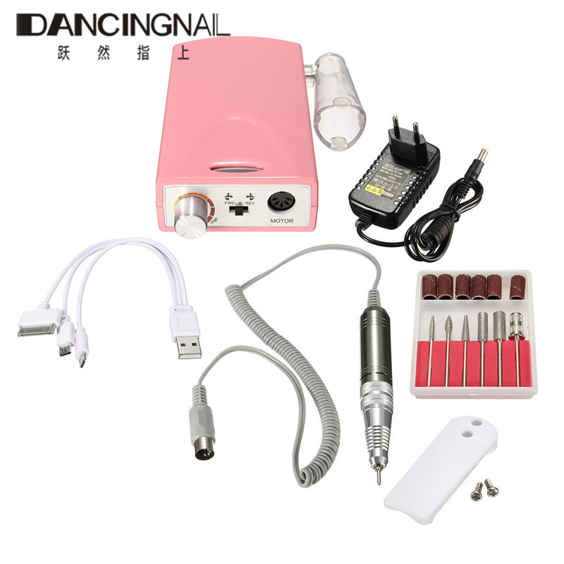 Portable Electric Nail Drill Machine Rechargeable Cordless Manicure Pedicure Set Nail Polishing Sander Drill Bit Instrument nail clipper cuticle nipper cutter stainless steel pedicure manicure scissor nail tool for trim dead skin cuticle