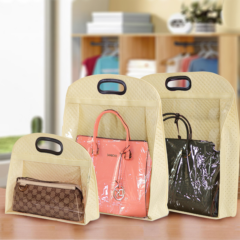 New!Non-woven Bag Storage bag Thickening Wallet Storage bag  HandBag Dust Cover Mix size Ladybag Storage Case ice cream cart toy