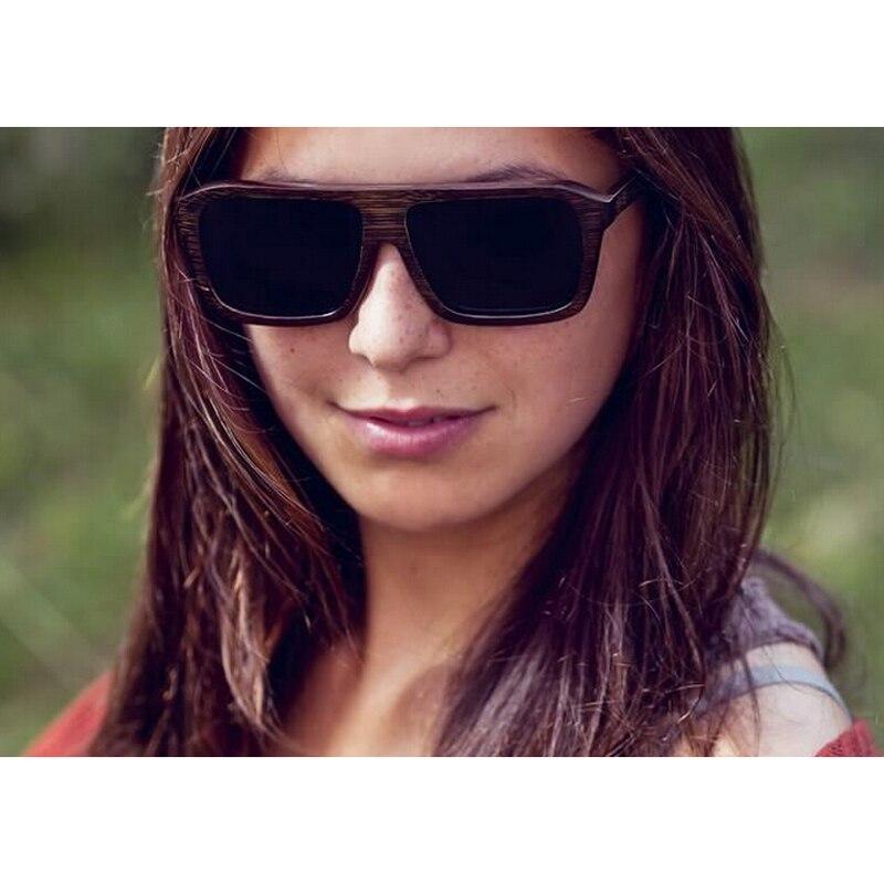 Ochelari de soare din bambus cu vânzare la cald, ochelari de soare - Accesorii pentru haine - Fotografie 6