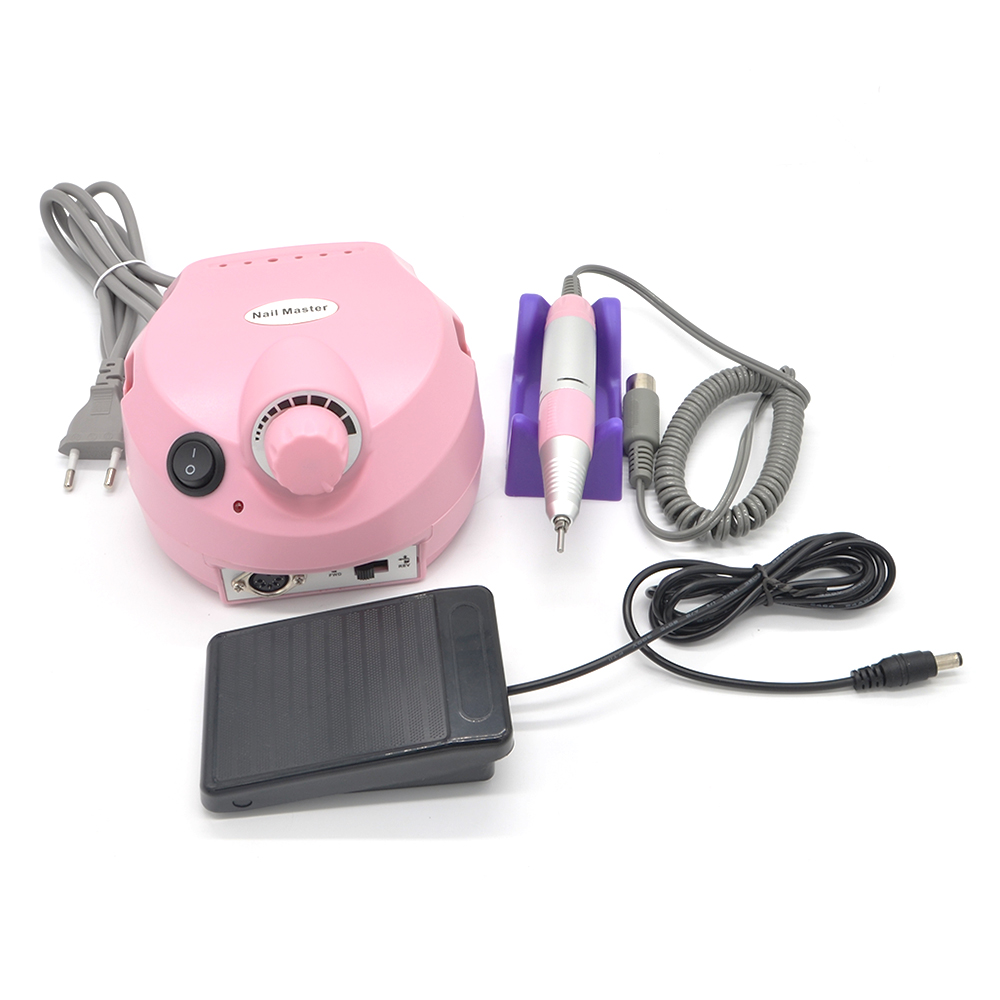 wholesale electric nail drill handle nail drill manicure tool kit accessorieswith EU plug US plug manichiure