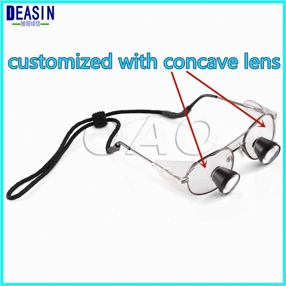 High Quality TTL dental loupes surgical Loupes binocualrs loupes 2.5X with Titanium alloys Frames FD-504G цена