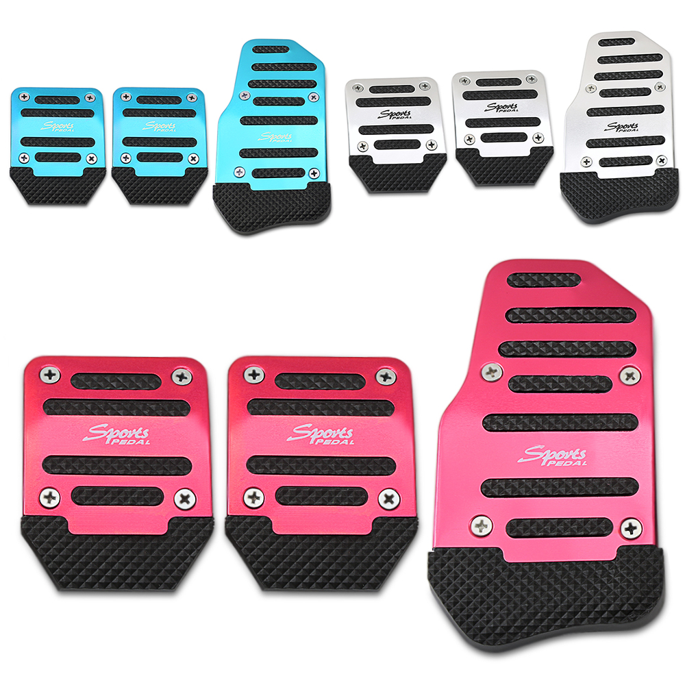 MT WANWU Accelerator Fuel Gas Brake Pedal Pad Cover Non Slip For Volvo V40 XC40