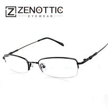 519c94a9ecde Free shipping memory flexible bridge temple metal eyeglasses eyewear Man  and Lady optical frame glasses