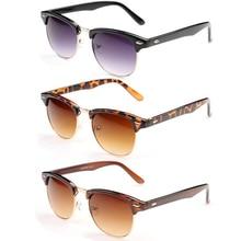 New  Fashion Retro Vintage Sunglasses Women Men Brand Designer Oversized Sun Glasses