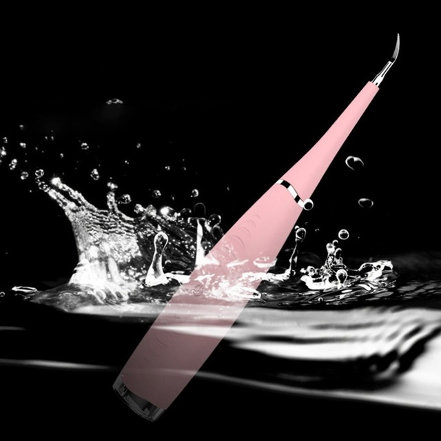 Elettrico portatile di Sonic Scaler Dentale Dente Strumento Dentista Tartaro Tartaro Remover Le Macchie Dei Denti Sbiancare I Denti Salute E Igiene bianco 5
