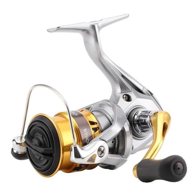 מקורי Shimano סדונה FI C2000HGS C2000S 2500S רדוד Spool ספינינג דיג סליל 3 + 1BB G משלוח גוף saltewater דיג סליל