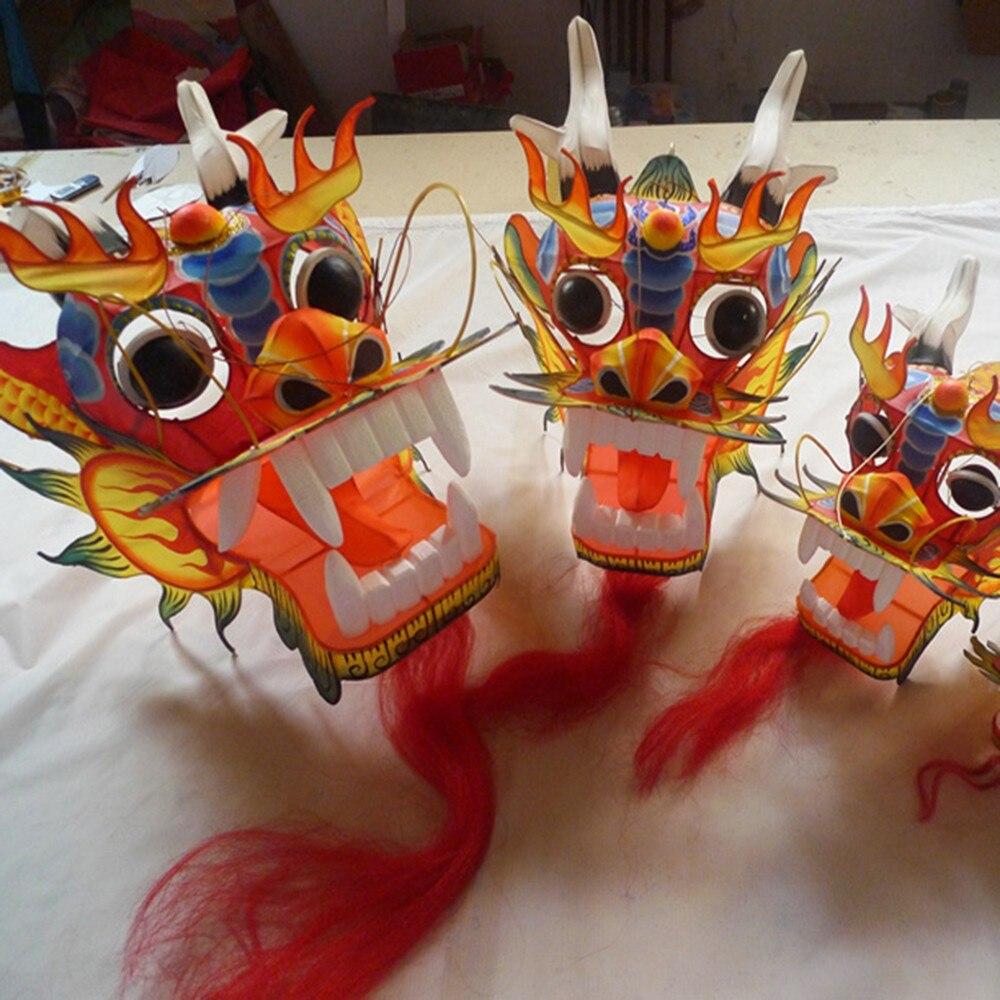 Artisanat traditionnel chinois tête de Dragon mille-pattes enfants cerf-volant sept mètres de Long en plein air parent-enfant - 2