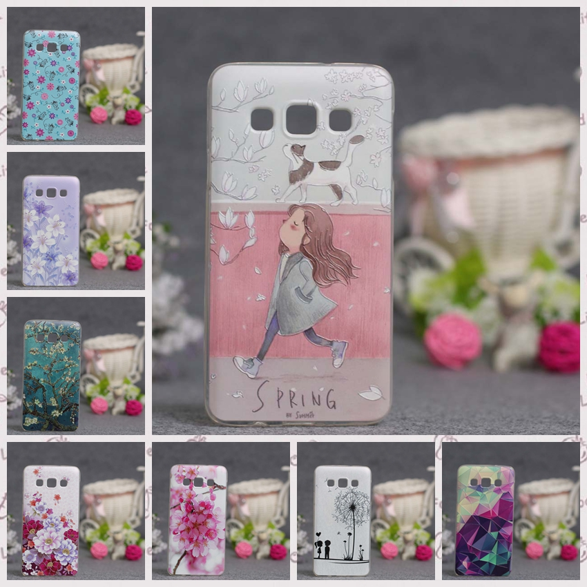 For Funda <font><b>Samsung</b></font> Galaxy A5 2015 Phone <font><b>Case</b></font> Cover Silicone Luxury Cute 3D Coque For <font><b>Samsung</b></font> A5 A500 A500F <font><b>A500FU</b></font> Cover <font><b>Case</b></font> Capa image