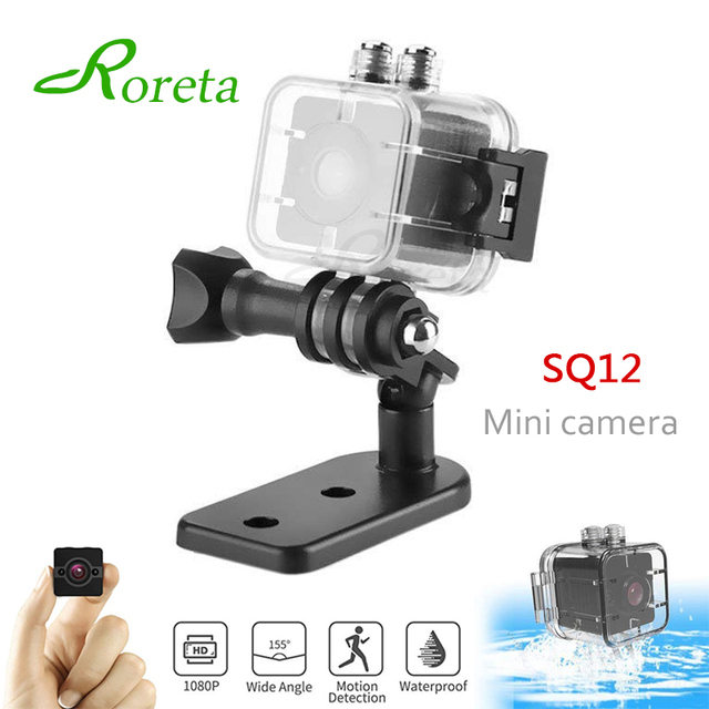 Roreta SQ12 mini Camera small cam HD 1080P Sensor Night Vision Camcorder Micro video Camera SQ 12 DVR DV Motion Recorder Camcord