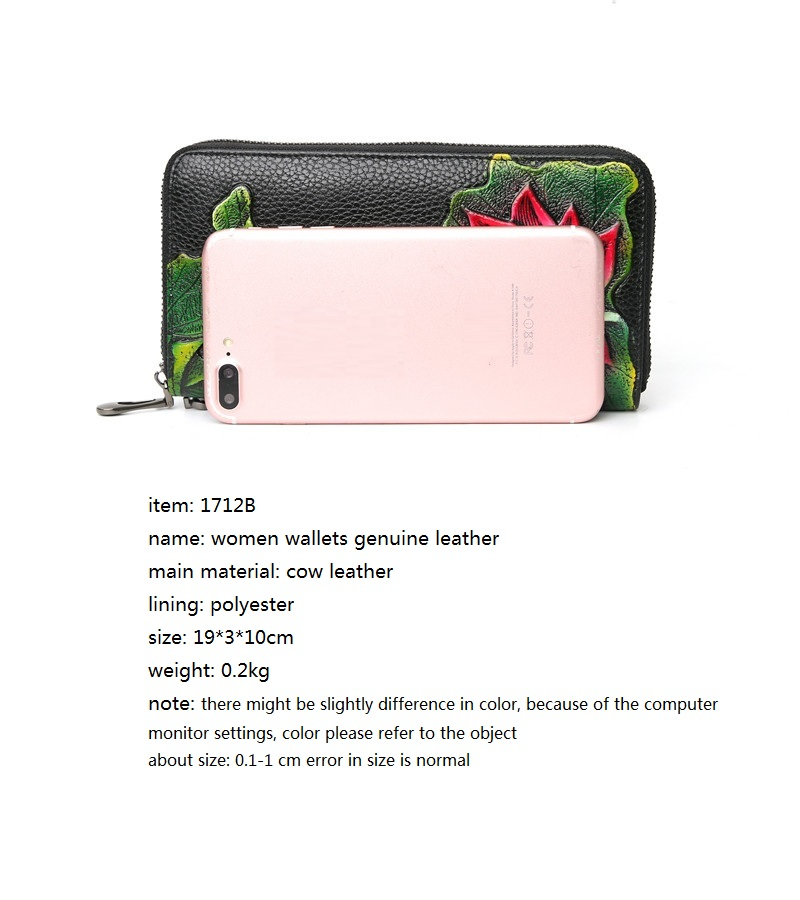 genuine leather wallet female (4)