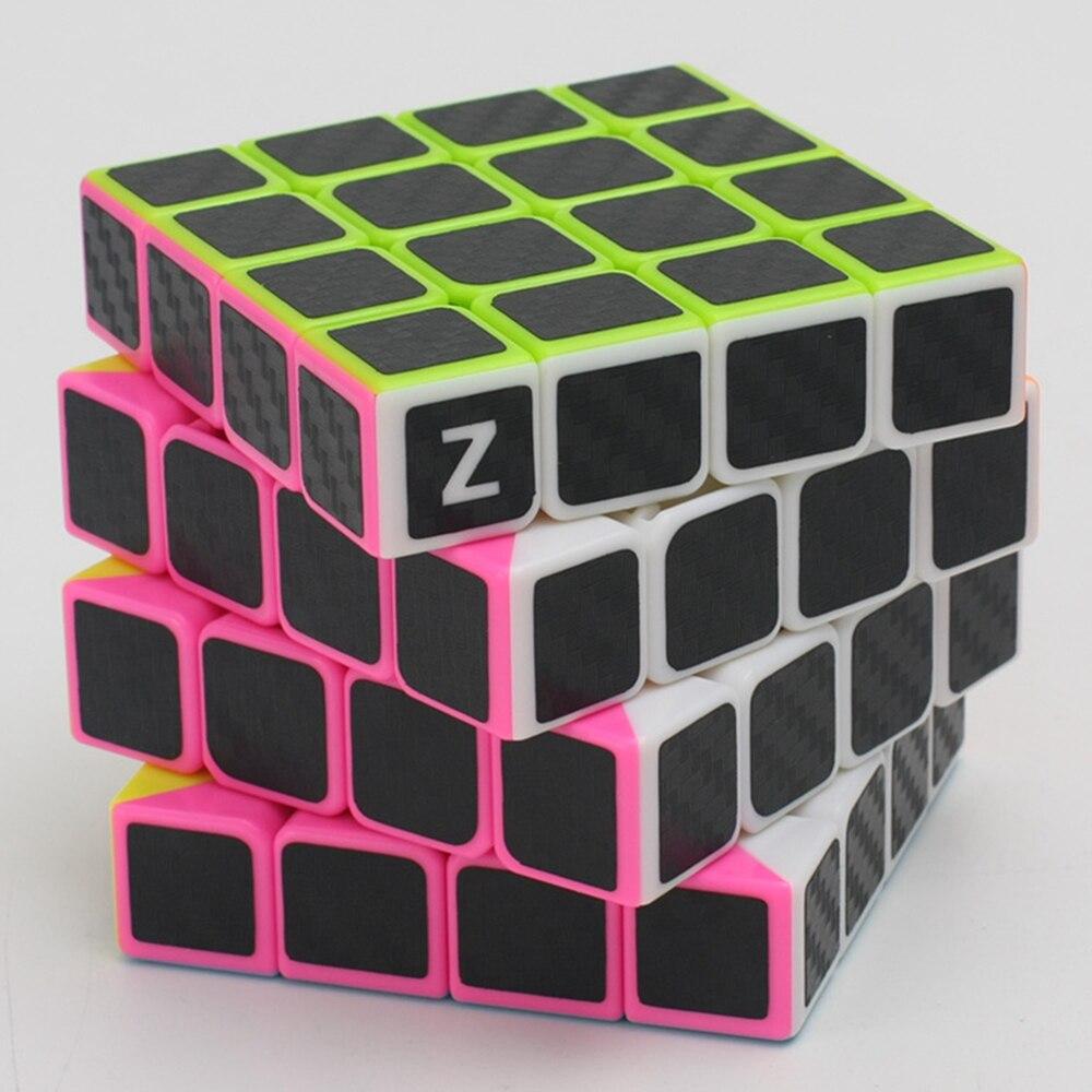 Cubos Mágicos zcube 4x4x4 fibra de carbono Sticker : Carbon Fiber Sticker