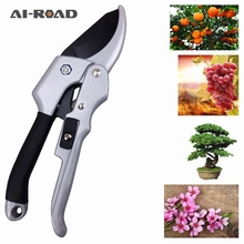 AI-ROAD Carbon Steel Pruning Shear Gardening Tree Flower Labor-saving Flower branch shear Pruner Cutting Tool 1Pc Garden Tools 4 5m telescopic pole pruner saw pruning cutter steel garden shear extendable