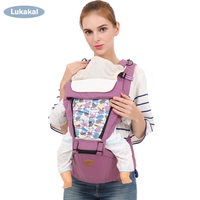 Free Hood+Bibs HipSeat Baby Carrier BackPack 1M 6M 12M 24M 36M Front Facing Infant Sling Cotton Wrap For NewBorn Baby Kangroo Backpacks & Carriers