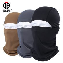 Breathable Balaclava Tactical Army Paintball Airsoft Full Face Mask Bicycle Winter Warmer Snowboard Military Helmet Liner Hats(China)