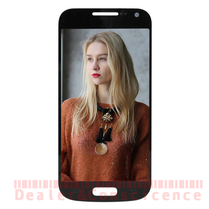 1PCS (Tested) For Samsung I9190 Galaxy S4 mini i9190 i9195 SM-i9190 LCD Display Assembly Digitizer AMOLED Touch Screen Panel