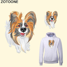 ZOTOONE Lovely Dog Patch for clothing  Heat Transfer 12.6*16.8cm Ironing Stickers Iron on Patches A-plus Washable Appliques E