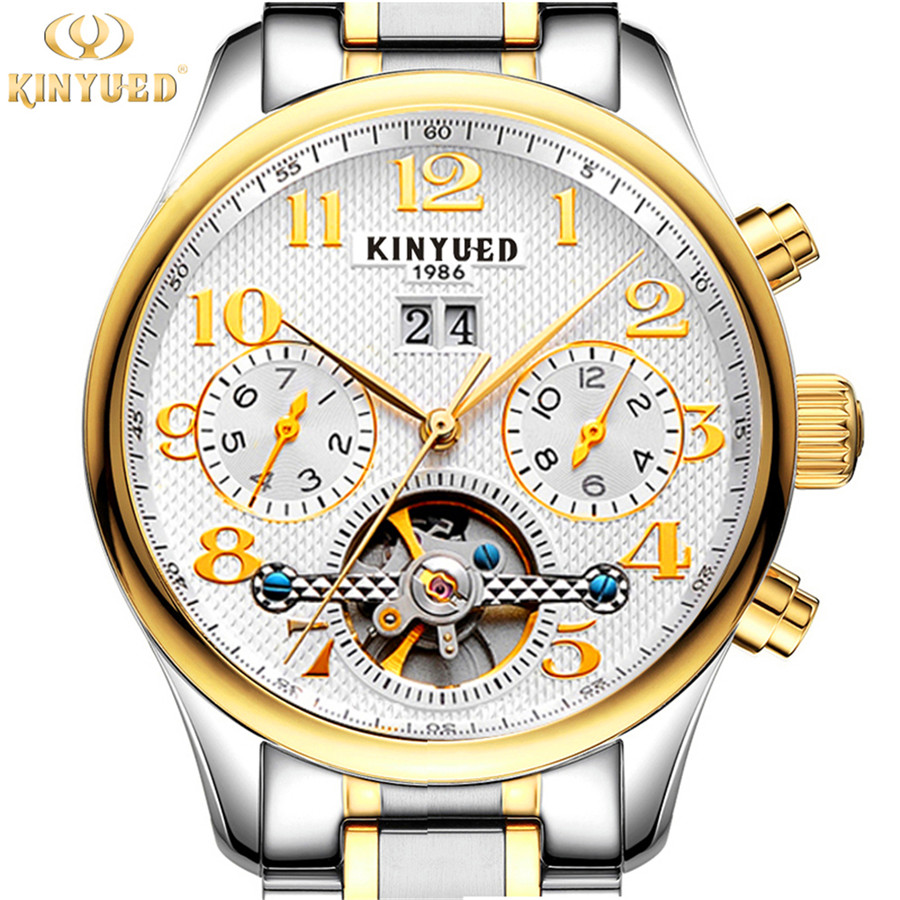 Watch Men Business Waterproof Clock Mens Watches Top Brand Luxury Fashion Casual Sport Mechanical Wristwatch Relogio Masculino oubaoer fashion top brand luxury men s watches men casual military business clock male clocks sport mechanical wrist watch men