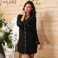 Sleep tops women spring fashion sexy sleep shirts ladies elegant sleep shirt new arrival female home robe   AA167