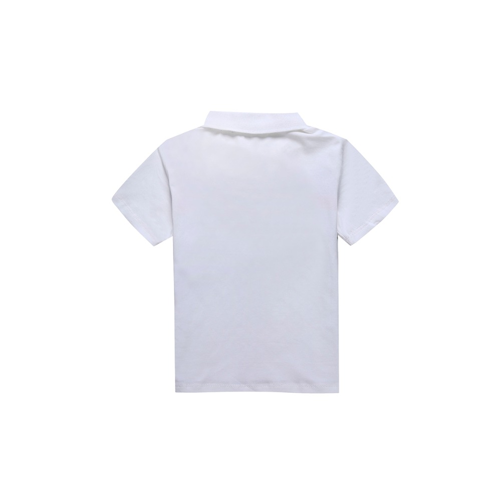 2 8 Y Boys T shirts Summer Short sleeves T shirt For Children 39 s Turn down Collar Brand F neck T shirt Baby Boys Clothes in T Shirts from Mother amp Kids