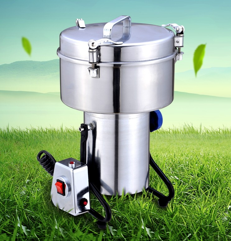 new model High Quality 3000g Swing type stainless steel electric medicine grinder powder machine ultrafine grinding mill купить недорого в Москве