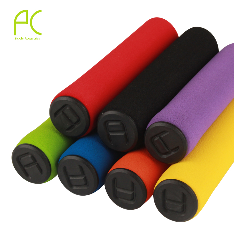 2016 Bicycle Foam Grips 8 Color MTB Bicycle Handlebar Grip Manopole Bici MTB Bike Soft Anti-Slip Sponge Handlebar Grips