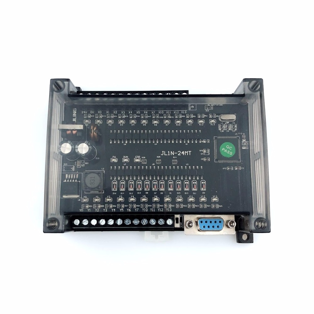 PLC FX1N-24MT Can Directly Drive Solenoid Valve 12 Points In 12 Points Out Plc Programmable Logic Controller