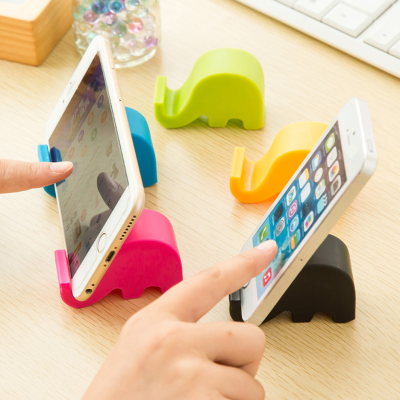 Cellphones & Telecommunications Purposeful Mini Elephant Table Desk Mount Stand Phone Holder For Cell Mobile Phone Tablets
