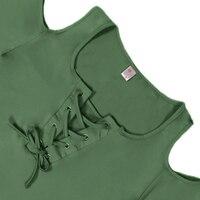летние для женщин футболка одноцветное цвет со шнуровкой повязки крест-накрест повседневное короткий рукав футболка с открытыми плечами футболки-топы 5XL большой lj9628r