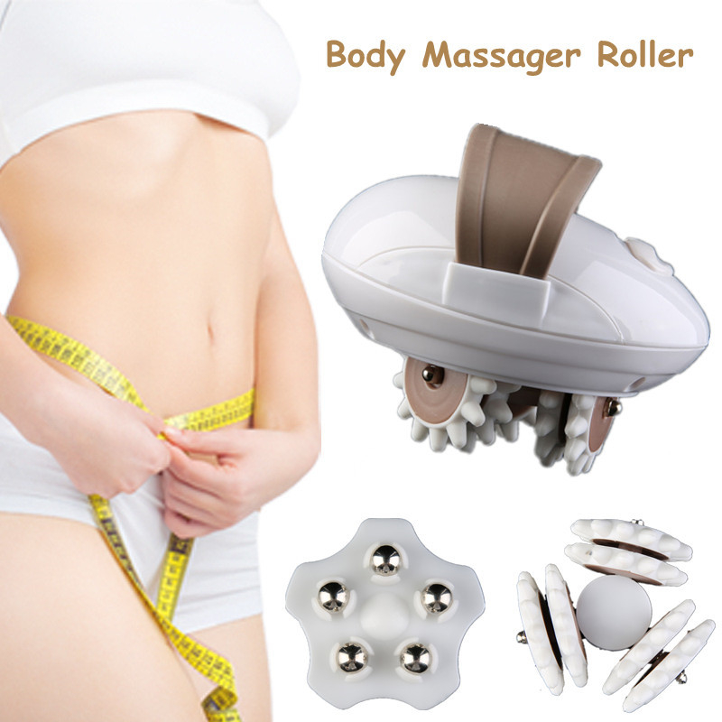 Massage & Relaxation Beauty & Health Electric Face Foot Slimming Massager 3d Body Slimmer Leg Neck Body Massager Roller Anti-cellulite Machine Weight Loss Massage