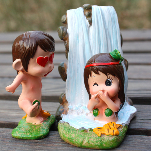 Adam And Eve Models Ornaments Wedding Gift Ideas Gifts Couple Married Valentines Day 504