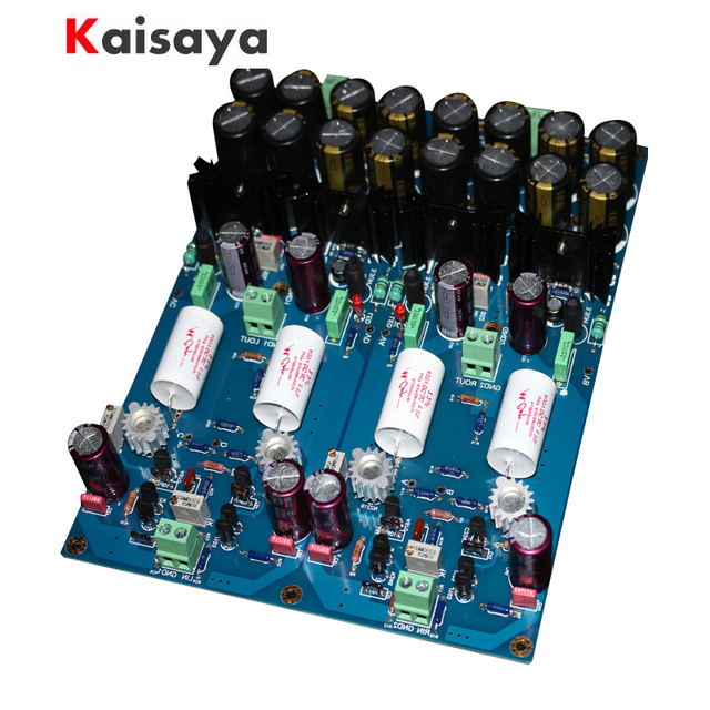 US $127 27 49% OFF|Dual Differential FET Input Amplifier Gold Seal Class A  AMP BOARD 1:1 Mark Levinson JC 2 Preamplifier Finished PER AMP Board-in