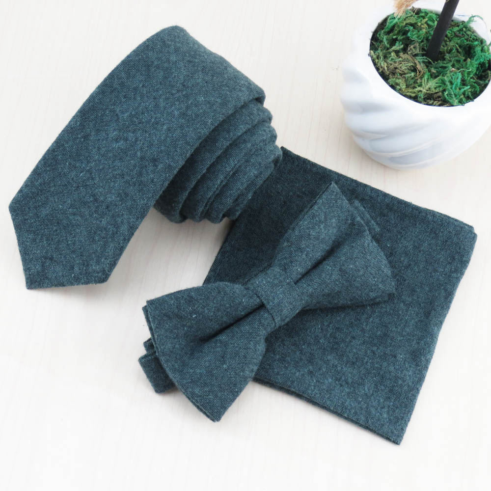 A very popular high-end green tie bow tie face cloth/Super fashion/Meager profit but high turnover