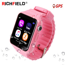 V7k Kids Smart Watch GPS Global Location Baby Child Watch Phone Finder Tracker Camera Anti-lost SOS Safe Voice Call PK Q50 Q90