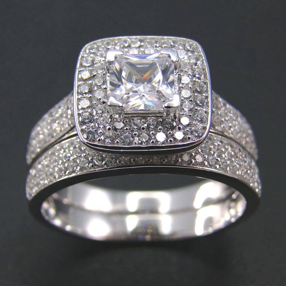 Fine Jewelry Wedding Ring Set Jewelry For Women As Wedding