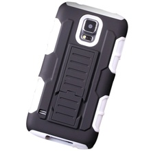 3-in-1 Protector Armor For Smartphone High Impact Hybrid Case Cover + Belt Clip Holster Stand Phone bags Accessories