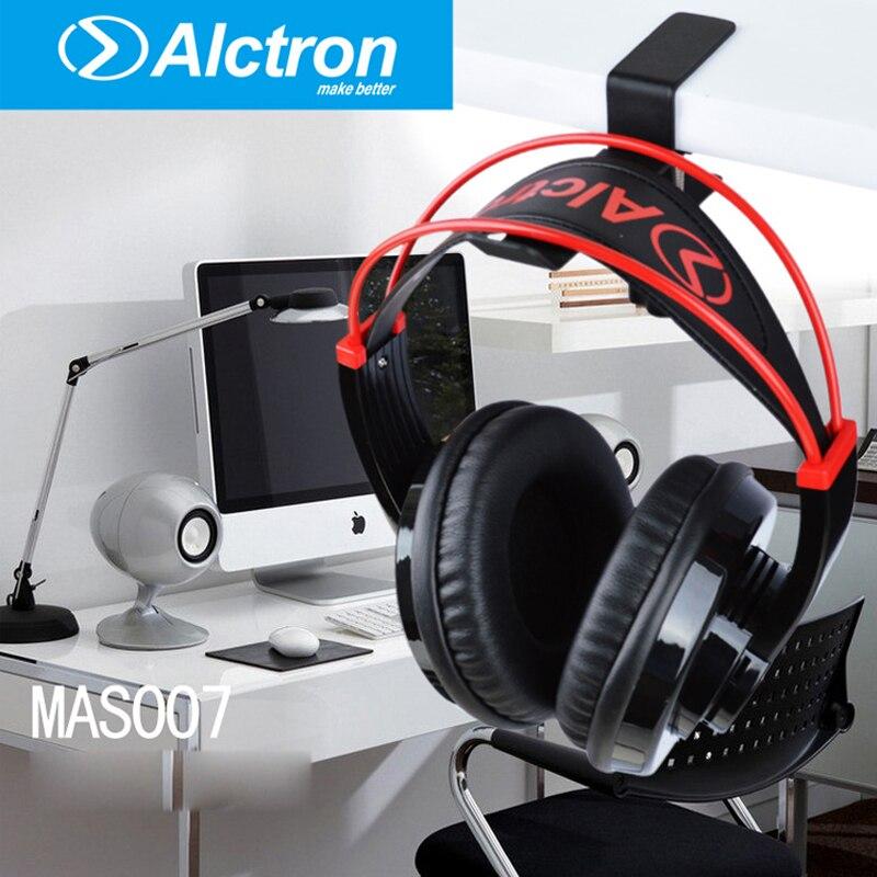 Alctron MAS007 Steel Headphone Destop Mount Holder Hanger Hook Headset Shelf Rack Earphones Stand Gaming Studio