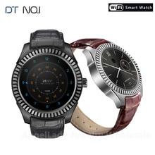 DTNO.1 D7w Android 4,4 Смарт-часы Companion MT6572 с емкостью батареи 500 мАч, компас, Wi-Fi, мужские Смарт-часы на заказ