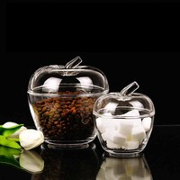 Creative Transparent Snacks Dried Fruit Storage Cans Candy Boxes Acrylic Plastic Jar Honey Jar Storage Tank