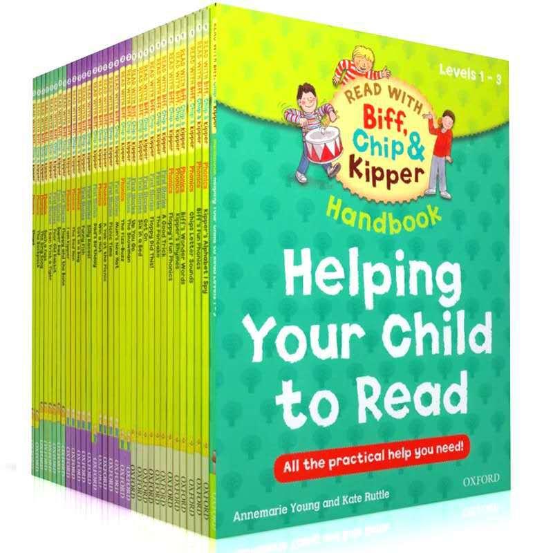 Oxford ReadingTree Anglais Lecture Livre Aider Votre Enfant à Lire 1-3 Niveau 33 pcs/ensemble