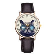 5f10504cfca B-9113 Números Grandes Homens Relógio de Pulso de Couro Casual Relógios de  Quartzo Movimento