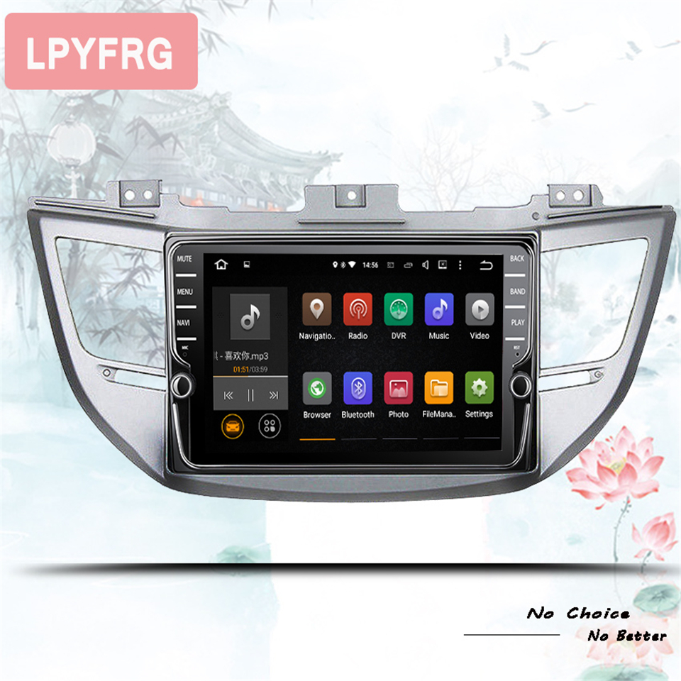 Android 10.0 car dvd for Hyundai Tucson/ ix35 2016 2017 2018 with 4+64GB radio stereo gps navigation car stereo Head Unit Gps
