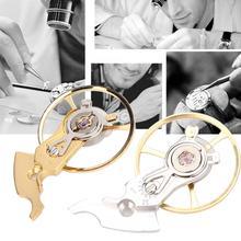 Mechanical Watch Balance Wheel Spring with Holder for ETA 2824 2834 2836