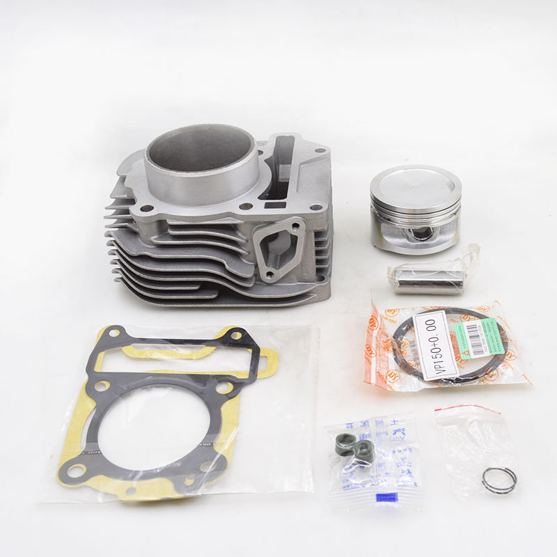 2088 High Quality Motorcycle Cylinder Kit Set For PIAGGIO Vespa150 Fly125 Modified to Fly150 Vespa Fly 150 Engine Spare Parts high quality motorcycle cylinder kit for