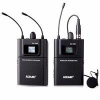 Acemic DV 100 приемник передатчик беспроводной микрофон ИК для DSLR камера DV, Pro аудио системы стрельба интервью запись