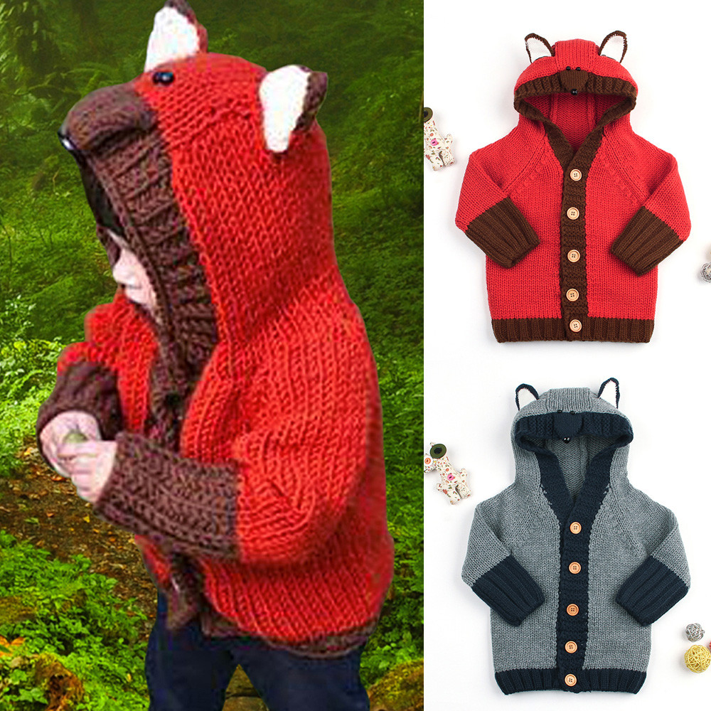 Knitted, Winter, Baby, Fox, Autumn, Free