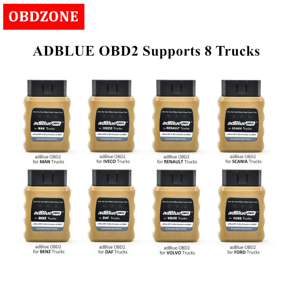 Daf Scania Adblueobd2 Emulator For Volvo Man Benz Ford Iveco Renault Daf Scania Trucks Plug And Drive Ready Device
