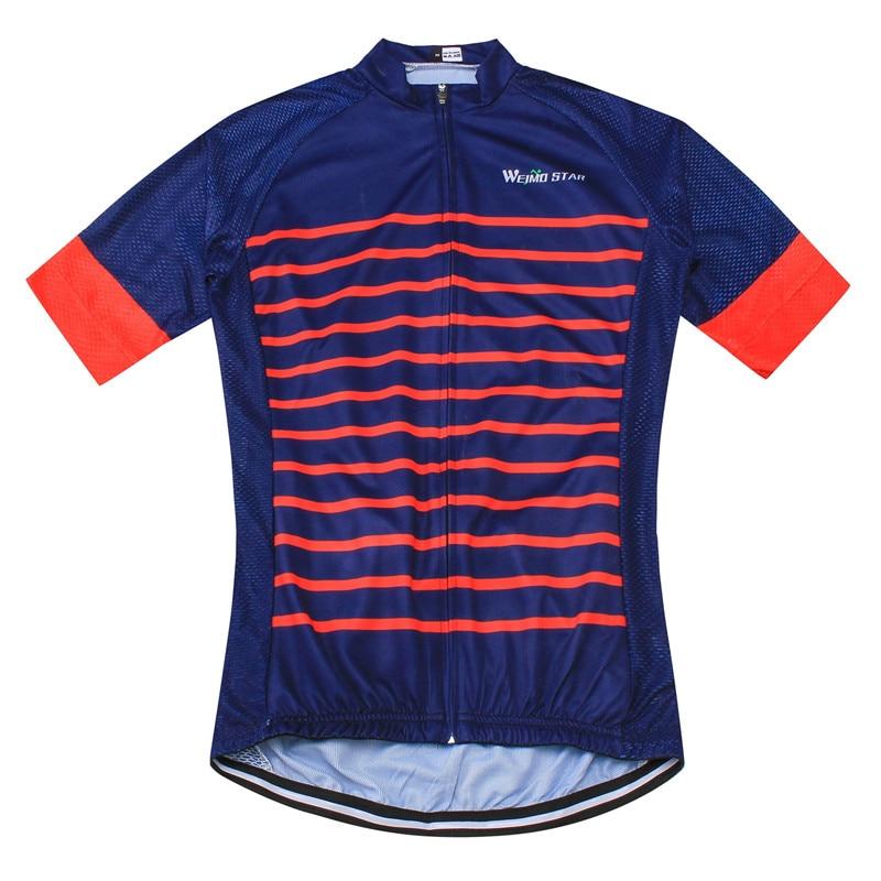 Weimostar Pro Team Jersey de ciclismo de media manga para hombre Top - Ciclismo - foto 3